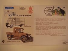Military Issue Int'l Stamp Exhibition 1980 FDC By Air From HQ BFPO By Motor Veh.