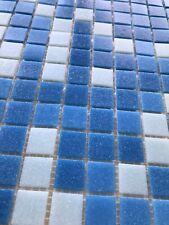 225 carrés de mosaïque turquoise Bleu ciel 1,8mm x 3 mm