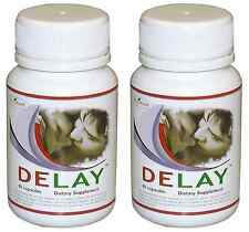 2X DELAY Premature Ejaculation Performance Enhancement Increase Stamina