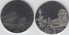 gertbrolen   White star line  Paquebot TITANIC (1912)   Médaille   Cupro-Nickel