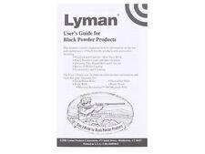 Lyman Black Powder User's  Guide * 6985043 * New!
