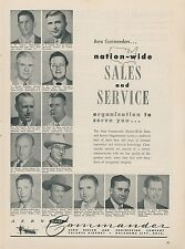 1953 Aero Commander Aircraft Ad Nation Wide Sales & Service Team Member Photos