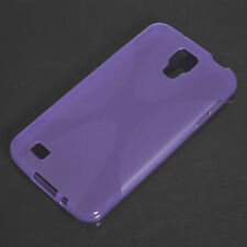 HOUSSE ETUI COQUE SILICONE GEL VIOLET SAMSUNG GALAXY S4 ACTIVE i9295