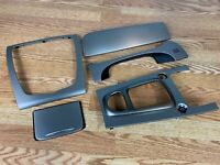 07-09 Jaguar XK Dash Center Console Interior Trim Piece Set Silver OEM Complete