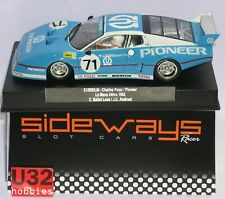 RACER SIDEWAYS SW64 FERRARI 512BB/LM #71 PIONEER 24H.LE MANS 1982 BALLOT-ANDRUET