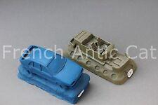 Rare matrice modele RENAULT 19  phase 1 5 portes 1/43 Heco 3 master véhicule MK