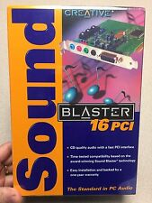 Creative SB4740 Sound Blaster 16 PCI *New/ Sealed*