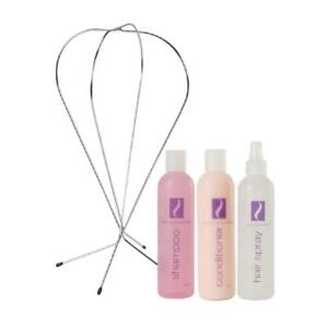 Salon Silhouttes 4 Pc Wig Care Kit for All Types of Hair