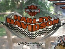 Harley Davidson racing  sticker decal Special two for one