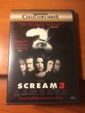 Scream 3 (DVD) Neve Campbell, Patrick Dempsey, Jenny McCarthy...197