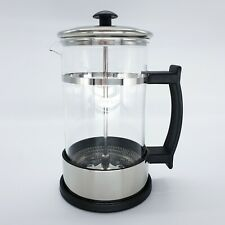 French Press Coffee Tea Maker Milk Frother 11.6 20 OZ 304 Stainless Heat-Resist