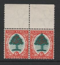 SOUTH AFRICA 1933-48 6d (I) WITH 'TOP OF TREE EXTENDED' R1/10 OR 12 SG 61 MNH.