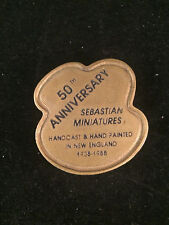 Sebastian Miniature Sml-525 Festival Medallion 1988 Palette - Hudson 4626 Signed