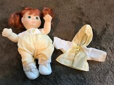 VINTAGE MY CHILD RED HAIR BLUE EYES DOLL WITH CLOTHES SHOES MATTEL 1985