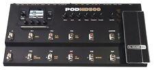 LINE 6 POD HD500 Amp Modeling Guitar Multi Pédale d'Effets et bloc d'alimentation 400 500X