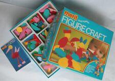 Merit Figurecraft Push Together Set Cat No. 6095 Memphis Looking Design