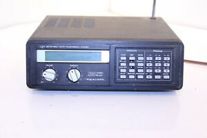 Realistic 20-113 Pro-2021 Mobile AM/FM Scanner/Receiver, Programmable
