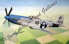 Maj. George E. Preddy Jr.'s P-51D Mustang Cripes A Mighty 3rd by Willie Jones Jr