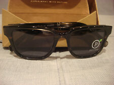 SHWOOD MENS PRESCOTT PEARL GREY ELM POLARIZED SUNGLASSES WAPPGELGP - NEW