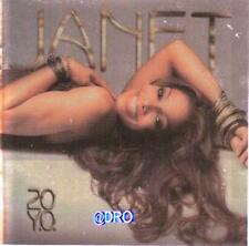 Janet Jackson + 20 y.o.y.o. + CD + 16 pezzi forti + Nuovo +