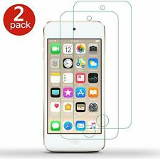 2 PACK For iPod Touch 7 7th Tempered Glass Screen Protector Guard Cover