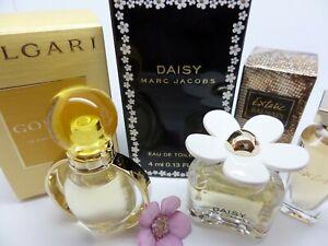 BVLGARI Goldea ~MARC JACOBS Daisy ~BALMAIN ~ WOMEN MINI Miniature PERFUME SET