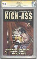 Kick-Ass #1 CGC 9.8 SS SIGNED by John Romita Jr. (Icon, 2008) 1st Dave Lizewski