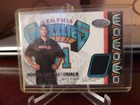 2001-02 NBA Hoops Hot Prospects Materials Shane Battier #HMSB Rookie