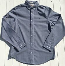 Penguin Mens Shirt | Size M | Long Sleeve | Chambray | Button Down Collar