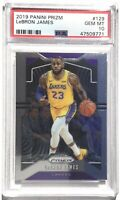 2019 Panini Select Lebron James #129 Basketball Base PSA 10 GEM MINT
