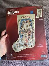 Janlynn Father Winter Victorian Santa Cross Stitch 18