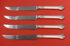 Silver Plumes by Towle Sterling Steak Knife Set Texas Sized Custom