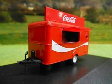 OXFORD 1/76 COCA COLA MOBILE CATERING TRAILER 76TR015CC