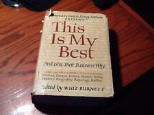 THis is My Best 105 Greatest Living Authors Present the Worlds Best,1942