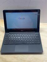 "Dell CB1C13 11.6"" 4GB RAM 16GB SSD Chromebook - Black Webcam FREE SHIPPING"