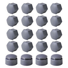 20pcs Wheel Lug Nut Center Cover + 4ps Locking Types Caps for VW Audi Skoda Seat