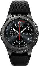 Samsung Gear S3 Frontier Smartwatch - Gris, Display mit 3,3 cm (1,3 Zoll)
