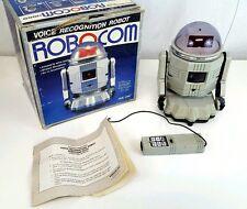Vintage Remote Control Robot Robocom 1000 Collectible Toy RC Rare Original