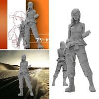 1/35 1/20 1/24 Beautiful Girl Soldier Series Resin DIY Unpainted Model Sold L4Y9
