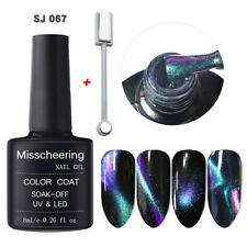 5D Cat Eye Uv Gel Polish Shimmer Chameleon Soak Off Gel Nail Varnish 8Ml &Slice