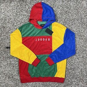 Air Jordan Sport DNA Fleece Pullover Hoodie Size XL Mens Multicolor