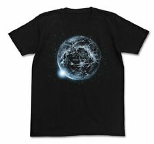 Gunbuster Okaerinasai Welcome Home Glow in the Dark Cospa Cotton T-shirt Black L