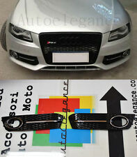 GRIGLIE FENDINEBBIA CON BORDO CROMATO AUDI A4 B8 2008-2012 - DESIGN RS4 S4