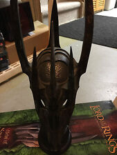 Lord of the Rings LOTR Helm of Sauron 1/4 scale  Sideshow Weta