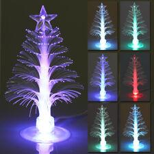 USB Color Changing Fiber Optical LED Light Christmas Xmas Tree Lamp Decoration