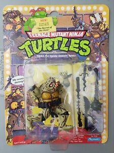 VINTAGE 1991 TEENAGE MUTANT NINJA TURTLES TOKKA ACTION FIGURE MOC TMNT