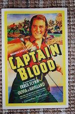 Captain Blood Lobby Card Movie Poster Errol Flynn