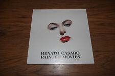 "RENATO CASARO signed signiert Autogramm ""PAINTED MOVIES"" Katalog LOOK"