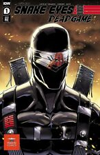 Snake Eyes: Deadgame #1 Starbase 1552 Comics Exclusive Variant by Adam Buttrey!