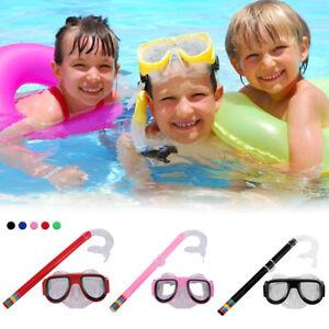Kinder Schnorchelmaske Schnorchelset Taucherbrille Tauchermaske Schwimmbrillen